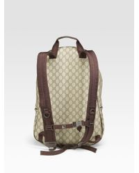 9477e031b267 Gucci Gg Plus Backpack in Natural for Men - Lyst