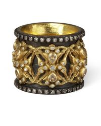 Armenta | Yellow Wing Of Fortune Ring | Lyst