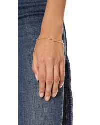 Jennifer Zeuner | Metallic Mini Eye Sapphire Bracelet | Lyst