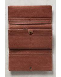 Liebeskind - Metallic Leonie Tri-fold Wallet - Lyst