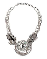 Night Market - Metallic Necklace - Lyst