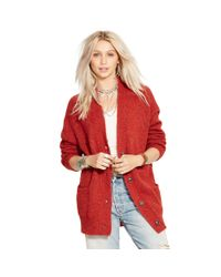 Denim & Supply Ralph Lauren | Brown Mohair-blend Cardigan | Lyst