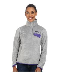 Patagonia | Gray Re-tool Snap-t® Fleece Pullover | Lyst
