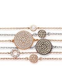 The Icon Bracelets - Gray Mini Icon Bracelet - Lyst