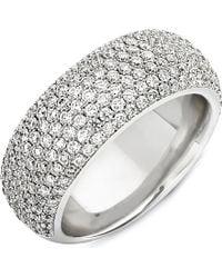 Theo Fennell - Metallic 18ct White Diamond Spangle Ring - Lyst