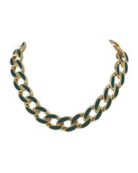 Karen Kane | Green Secret Garden Collar Necklace | Lyst
