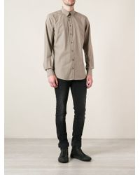 Dolce & Gabbana - Brown Classic Shirt for Men - Lyst