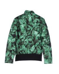 Moncler Gamme Rouge - Green Down Jacket - Lyst