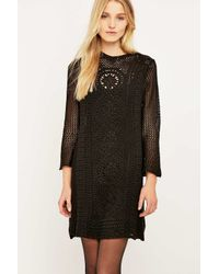 Free People | Black Rosalind Dress | Lyst
