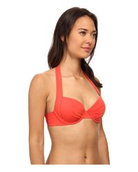 Tommy Bahama - Orange Pearl Underwire Bra Top - Lyst