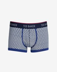 Ted Baker - Blue Swan Print Boxer Shorts for Men - Lyst
