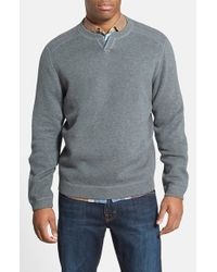 Tommy Bahama | Gray 'Flipside Abaco' Reversible Sweatshirt for Men | Lyst