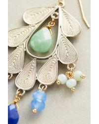 Anthropologie - Green Melipona Earrings - Lyst