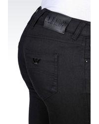 Armani Jeans - Black Jeans - Lyst