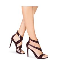 Tamara Mellon - Purple Tiger Patent Sandal - 105mm - Lyst