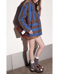 N°21 - Blue Cecilia Shirt - Lyst