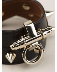 Givenchy | Black Obsedia Studded Bracelet | Lyst