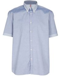 Aglini | Blue 'dante' Shirt for Men | Lyst