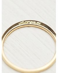 Free People - Metallic Nora Kogan Womens Loved Ring With Diamonds - Lyst