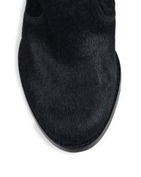 Joie - Black Dalton Calf Hair Ankle Boots - Lyst