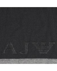 Armani Jeans - Black Scarf for Men - Lyst