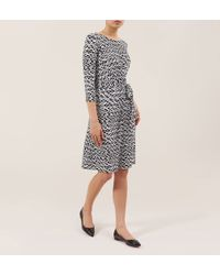 Hobbs | Black Melinda Dress | Lyst