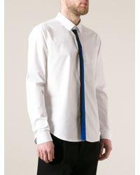 KENZO - White Collared Shirt for Men - Lyst