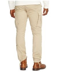 Polo Ralph Lauren | Natural Big And Tall Military Cargo Pant for Men | Lyst