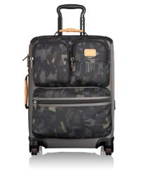 Tumi | Gray 'alpha Bravo - Kirtland' Rolling Expandable Continental Carry-on for Men | Lyst