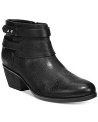 Clarks | Black Artisan Women's Gelata Freeza Booties | Lyst