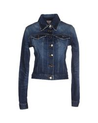 People - Blue Denim Outerwear - Lyst