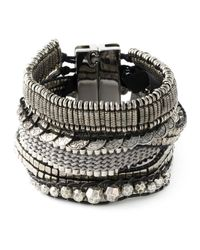 Hipanema - Gray Stacked Bangle Bracelet - Lyst