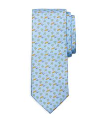 Brooks Brothers | Blue Toucan Print Tie for Men | Lyst