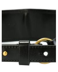 Tory Burch - Black Studded Belt - Lyst