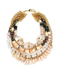 Lizzie Fortunato - Multicolor Excess And Elegance Necklace - Lyst