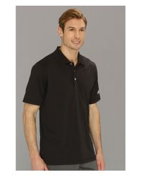 Adidas | Black Puremotion™ Solid Jersey Polo '15 for Men | Lyst
