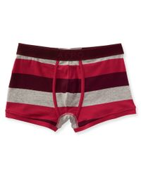 Aéropostale | Purple Rugby Stripe Knit Trunks for Men | Lyst