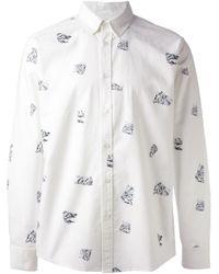 Soulland - White 'Peggs' Shirt for Men - Lyst