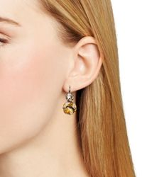 Sorrelli | Metallic Teardrop Leverback Earrings | Lyst