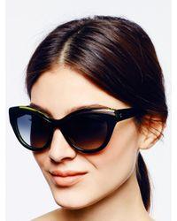kate spade new york | Green Elektra Sunglasses | Lyst