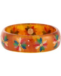 Mark Davis | Orange Matilda Bangle | Lyst