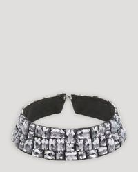 Ted Baker - Metallic Threed Beaded Collar Necklace 15 - Lyst