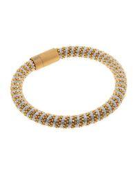 Carolina Bucci - Metallic Twister Bracelet Yellow Gold - Lyst