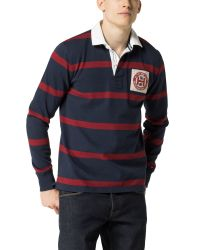 Tommy Hilfiger - Blue Tylor Rugby Top for Men - Lyst