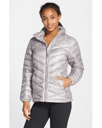 The North Face | Metallic 'aconcagua' Down Jacket | Lyst