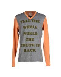 John Galliano - Gray T-shirt for Men - Lyst