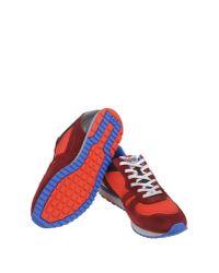 Lotto Leggenda - Red Low-tops & Sneakers for Men - Lyst