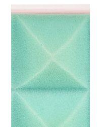 Mary Katrantzou   Blue Foam Box Clutch   Lyst