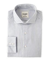 Ben Sherman | Blue Stripe Tailored Slim Fit Dress Shirt for Men | Lyst