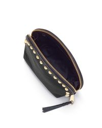 Rebecca Minkoff | Black Dome Pouch With Studs | Lyst